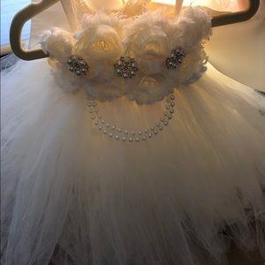Other - Baby girl cream flower girl/ baptism dress.